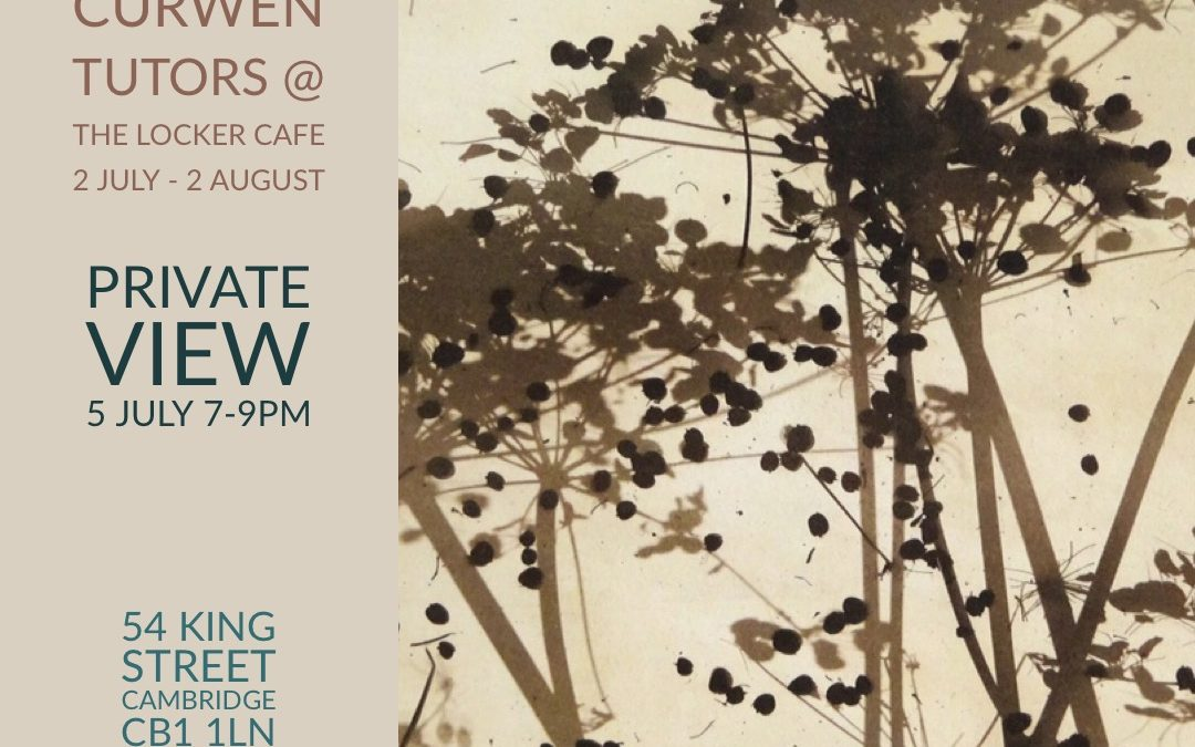 INPRINT.  An exhibition by the Curwen Tutors.  2nd July to 3rd August.