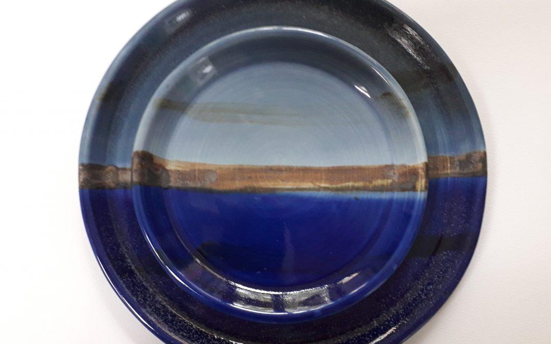 Kate  King (paintings) and Diana Kazemi (pottery)