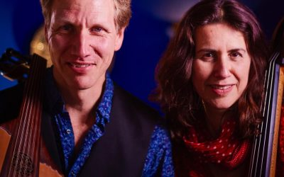 Eastern Strings duo Daphna Sadeh and Knud Stuwe. February 24th. 3.30pm