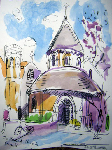 Alice Thomson: Cambridge scenes. Ends July 18th