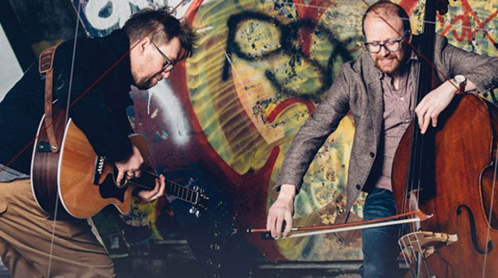Ward and Parker fabulous guitar/bass duo return 3.30pm October 20th