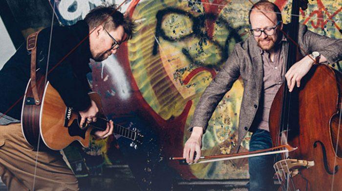 Ward and Parker fabulous guitar/bass duo return 3.30pm October 20th